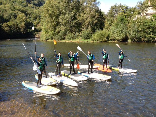location paddle conques en rouergue