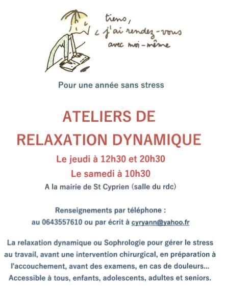 Ateliers relaxation